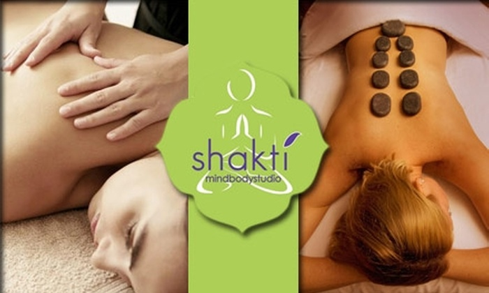 Shakti MindBody Studio - Logan Circle - Shaw: $55 for Deep-Tissue or Hot-Stone Massage at Shakti MindBody Studio (Up to $150 Value)