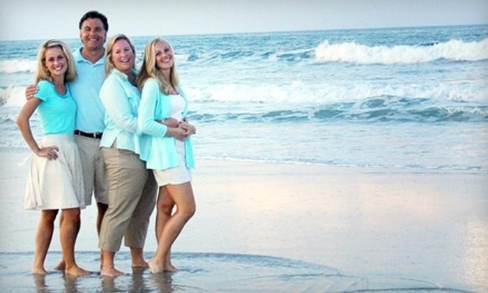 Alena's Photography Studio - Villano Beach: $59 for a Beach Family Photo Shoot from Alena's Photography Studio in St. Augustine ($277 Value)