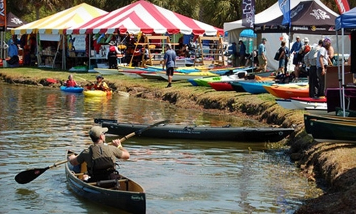 East Coast Canoe & Kayak Festival - James Island: $7 for Sampler Day Pass at East Coast Canoe & Kayak Festival ($15 Value). Choose from Three Dates.