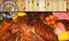 Mann's Smokehouse - Wooten: $5 for $15 Toward a Barbecue Lunch at Mann's Smokehouse