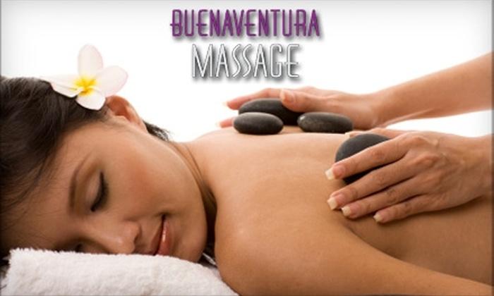 BuenaVentura Massage - San Buenaventura (Ventura): $35 for One-Hour Massage at BuenaVentura Massage ($70 value)