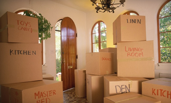 Moving APT - Deerfield Beach: Four Hours of Local Moving Services or Long-Distance Moving Services for Up to 1,400 Pounds from Moving APT (Up to 52% Off)