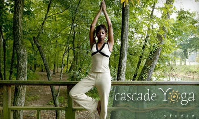 Cascade Yoga Studio - Ada: $39 for One Month of Unlimited Yoga at Cascade Yoga Studio ($100 Value)
