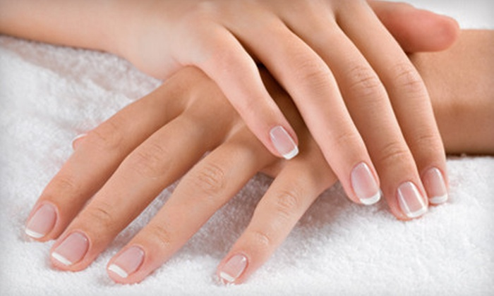 Nails by Jackie at Absolute Nails - Multiple Locations: Shellac Manicure, Basic Mani-Pedi, or Gel Nails by Nails by Jackie at Absolute Nails (Up to 51% Off)