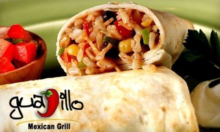 Guajillo Mexican Grill - Maryland Heights: $7 for $15 Worth of Mexican Fare at Guajillo Mexican Grill in Maryland Heights