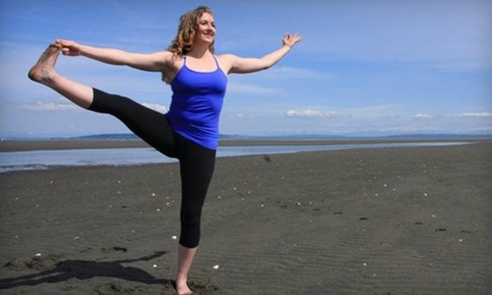 Shanti Yoga - Tsawwassen: $39 for One Month of Unlimited Yoga at Shanti Yoga in Tsawwassen (Up to $128 Value)