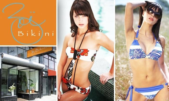 Zoe Bikini - Mission: $70 for $140 Worth of Fashionable Swimwear at Zoë Bikini