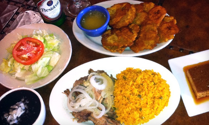 Puerto Plata Restaurant - Lakeshore: Authentic Caribbean Dinner for Two or Four at Puerto Plata Restaurant (Up to 63% Off)