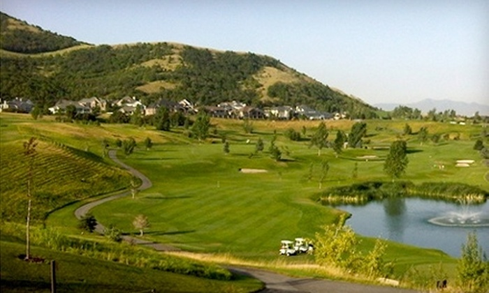 Eaglewood Golf Course - North Salt Lake: Golfing Packages at Eaglewood Golf Course in North Salt Lake. Two Options Available.