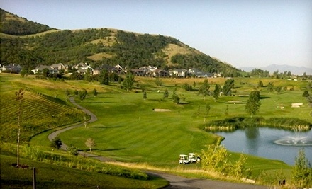 Eaglewood Golf Course: 18 Holes of Golf for 2 Players, Cart Rental, and 2 Half-Buckets of Balls - Eaglewood Golf Course in North Salt Lake