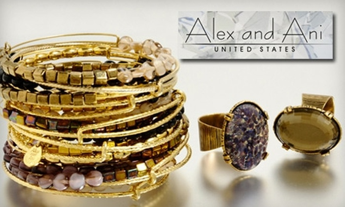 Alex and Ani - Newport: $50 for $100 Worth of Customizable Jewelry at Alex and Ani in Newport