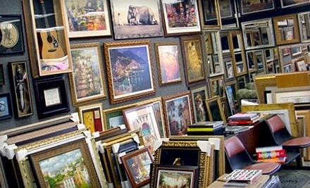 $100 Groupon to Picture Framing Outlet - Picture Framing Outlet in Whippany