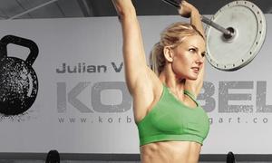 KORBEL Funktionelle Fitness: 5er-Karte funktionales Gruppentraining oder 1 Monat Mitgliedschaft bei Korbel Funktionelle Fitness (bis zu 86% sparen*)