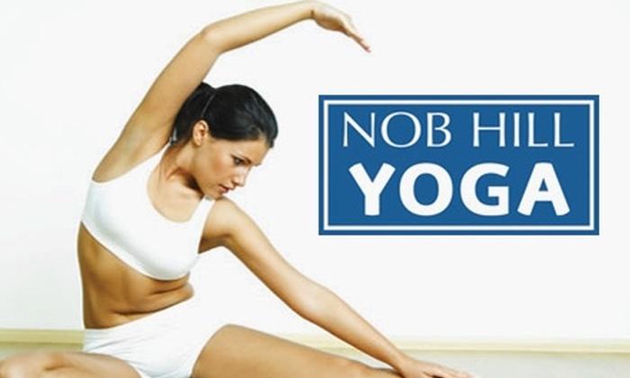 Nob Hill Yoga Center - Nob Hill: $20 for Four Yoga Classes at Nob Hill Yoga Center ($56 Value)