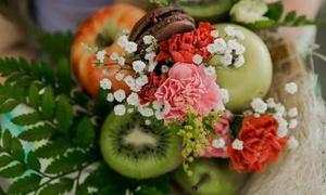 חמש עונות five seasons: סדנה עד הבית להכנת זרי פירות ופרחים: סדנה ליחיד ב-65 ₪, ל-5 אנשים ב-320 ₪ או ל-10 אנשים ב-630 ₪ בלבד