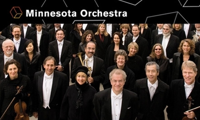 Minnesota Orchestra - Downtown West: $10 for a Ticket to One of Two Concert Performances by the Minnesota Orchestra ($25 Value)