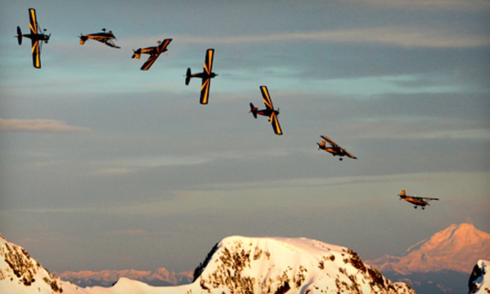 Canadian Flight Centre - Delta: Introductory or Advanced Aerobatic Flight Lesson at Canadian Flight Centre (Up to Half Off). Four Options Available.