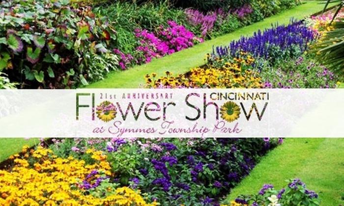 Cincinnati Flower Show - Symmes: $9 for a One-Day Adult Ticket to the Cincinnati Flower Show April 19–25 ($16 Value)