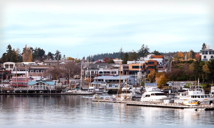 Earthbox Motel & Spa - Friday Harbor: Two-Night Stay for Two in a Water Place or Earth Place Room at Earthbox Motel & Spa in Washington