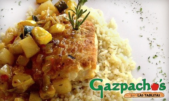 Gazpacho's by Las Tablitas - Brownsville: $10 for $20 Worth of Inventive International Fare at Gazpacho's by Las Tablitas