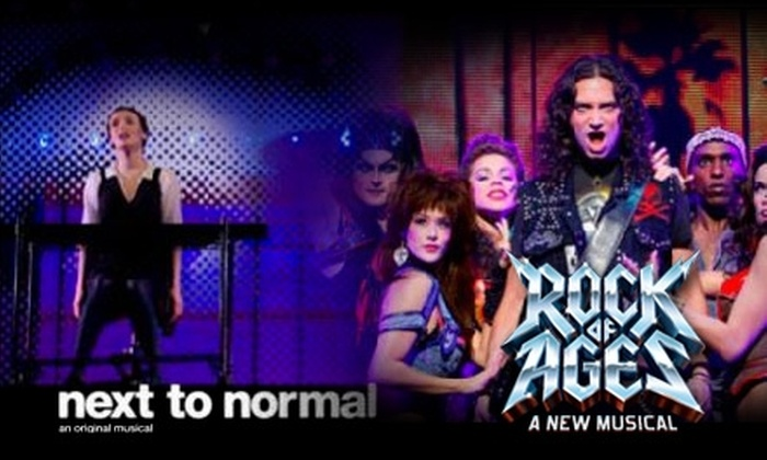 "SHN - San Francisco: $60 for a Two-Show Series of ""Next To Normal"" and ""Rock of Ages"" for Tuesday, Wednesday, or Thursday Performances ($120 Value) or $65 for Friday Performances ($130 Value)"