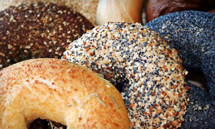 New York Bagel Deli - North Shore: $5 for a Baker's Dozen Bagel Box at New York Bagel Deli ($10.99 Value)