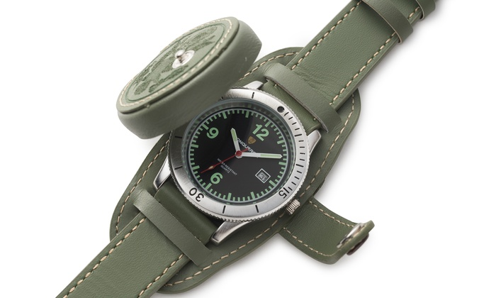 The Conqueror Watch Company - Central Jersey: $103 for $229 Worth of Accessories — The Conqueror Watch Company