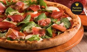 Pizza César - 5 unidades: Rodízio de pizza, massas, risotos e galetos para 1 ou 2 pessoas na Pizza César – 5 endereços