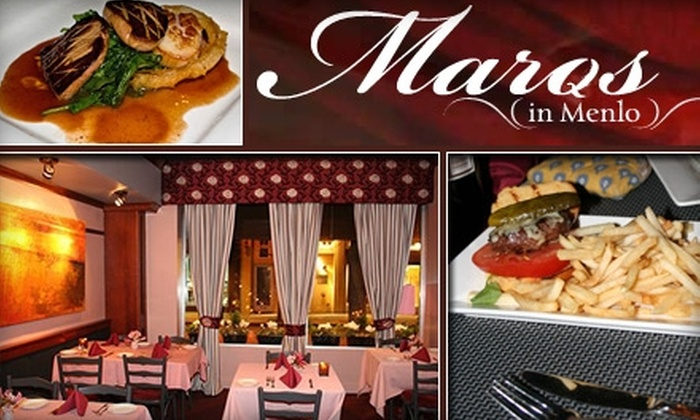 Marqs In Menlo - Downtown Menlo Park: $15 for $30 Worth of Eclectic Fare, Libations, and Live Music at Marqs in Menlo