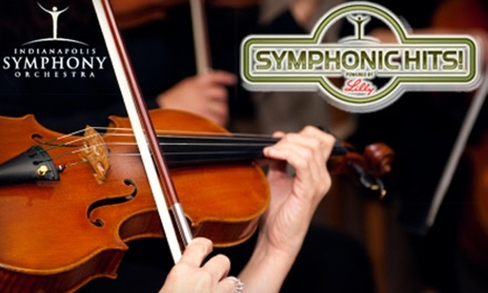 $12 for One Ticket to Indianapolis Symphony Orchestra Performance (Up to $28 Value). Choose from Eight Performances.