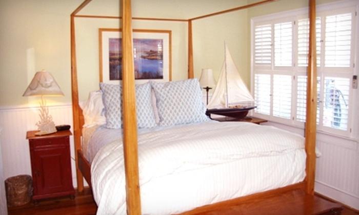 Marsh Harbour Inn - Bald Head Island: Two-Night Getaway for Two at Marsh Harbour Inn. Two Options Available.
