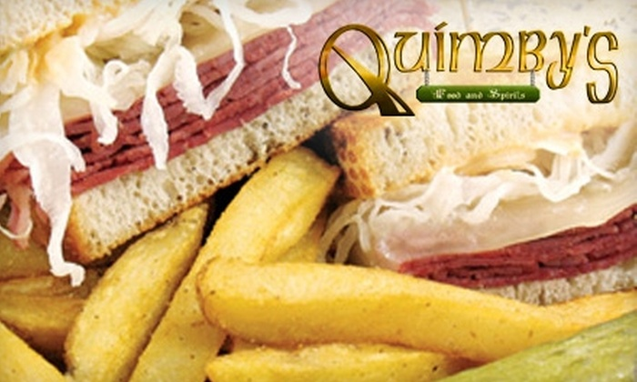 Quimby's Food & Spirits - Lambertville: $10 for $20 Worth of Classic American Fare at Quimby's Food & Spirits