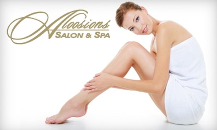 Aloosions Salon & Spa - Central Scottsdale: $32 for a Brazilian Wax or Other Waxing Services at Aloosions Salon & Spa in Scottsdale
