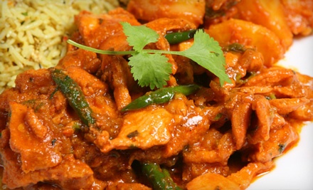 Little India Restaurant: Buffet Lunch For Two People (Lunch Served 11AM - 2PM) - Little India Restaurant in Redwood City