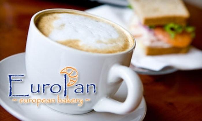 EuroPan European Bakery - Kentwood: $5 for $10 Worth of Café Fare at EuroPan European Bakery
