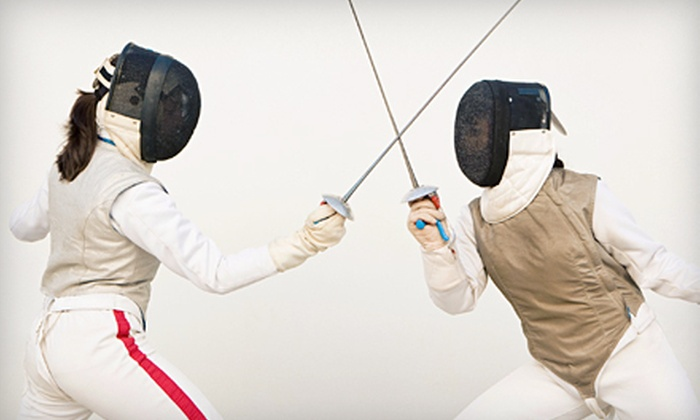 Fencing Sports Academy - Fairfax: One-Hour Fencing Lesson or Four-Week Fencing Course at Fencing Sports Academy (Up to 51% Off)