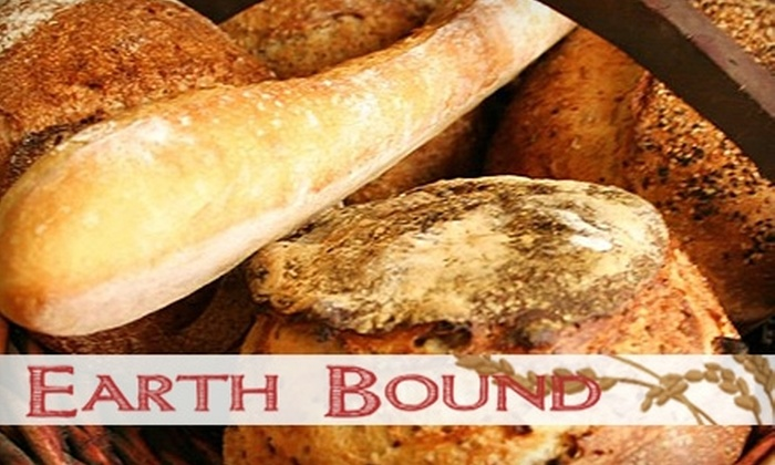 Earth Bound Bakery and Delicatessen - Holliston: $5 for $10 Worth of Sandwiches, Soups, Gourmet Breads, and More at Earth Bound Bakery and Delicatessen