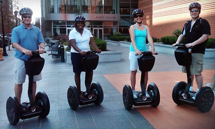 Charlotte NC Tours - Charlotte: $60 for a Two-Hour Segway Tour for Two from Charlotte NC Tours ($120 Value)
