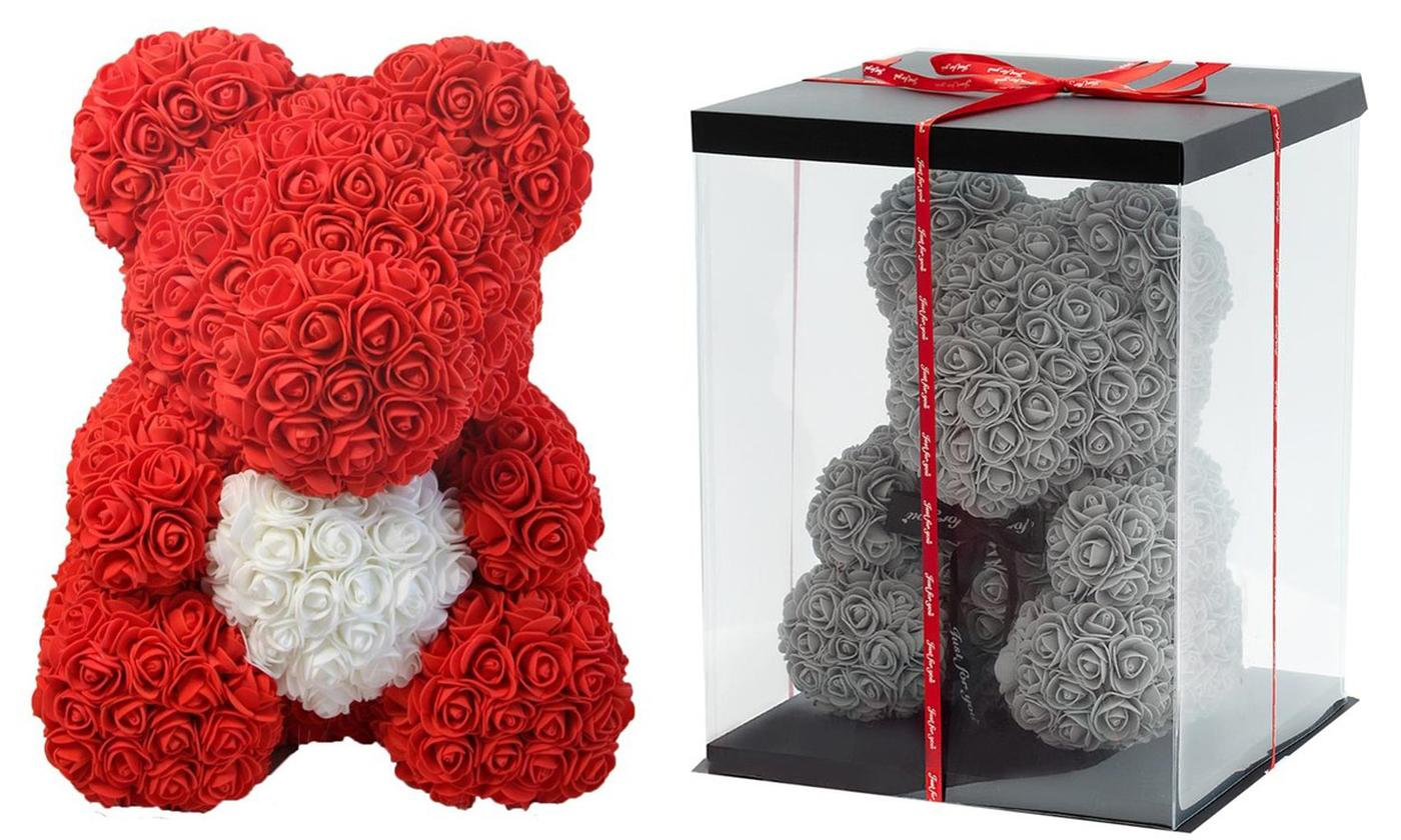 Rose Bears in Choice of Colour