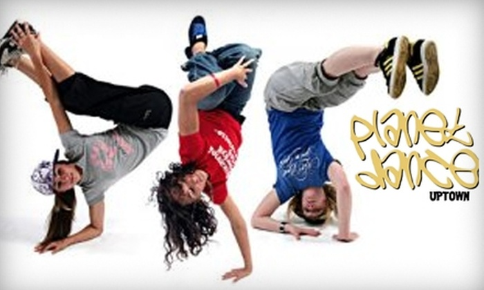 Planet Dance Uptown - West Chester: $69 for a Dance Birthday-Party Package at Planet Dance Uptown ($150 Value)
