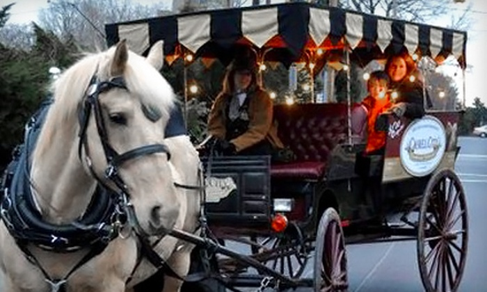 Camel City Carriage Company - At Old 4th St. Filling Station Restaurant: $10 for a 25-Minute Horse-Drawn-Carriage Tour for Two from Camel City Carriage Company (a $20 Value)
