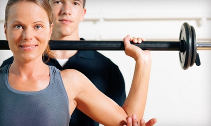 Club Ex Fitness & Nutrition - Multiple Locations: $30 for a 30-Day Pass and Training Session at Club Ex Fitness & Nutrition ($104 Value). Two Locations Available.