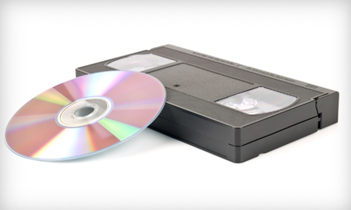 Concept One Media - Downers Grove: $40 for $100 Worth of VHS-to-DVD Conversion from Concept One Media in Downers Grove