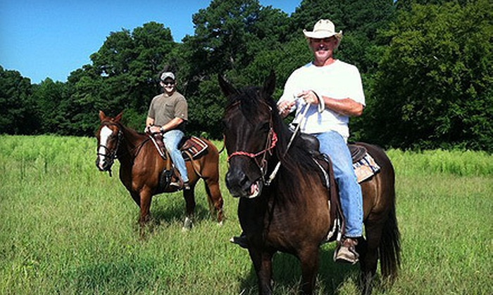 Triple M Ranch - 2: $60 for Horseback Trail Ride for Two at Triple M Ranch in Cape Charles ($120 Value)
