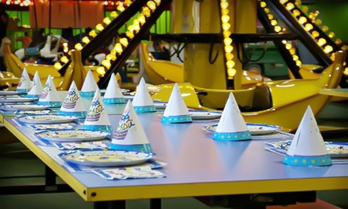 Birthday World Family Fun Center - Altamonte Springs: $15 for Carnival Ride, Mini-Golf, and Laser Tag Passes at Birthday World Family Fun Center ($32.44 Value)