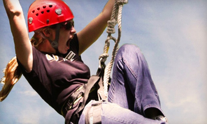 Myrtle Beach Zipline Adventures - Myrtle Beach: Two Zip-Line Rides or Zip-Line Party for 10 Kids at Myrtle Beach Zipline Adventures (Up to 80% Off)