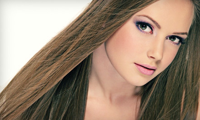 Distinctive Salon and Spa - Camelback East: $25 for $50 Worth of Hair and Nail Services at Distinctive Salon and Spa