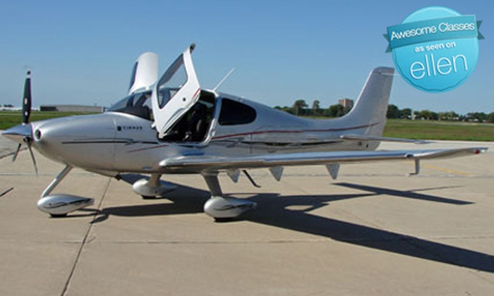 Travel Express Aviation - West Chicago: $187 for a One-Hour Introductory Flight Lesson from Travel Express Aviation at DuPage Airport in West Chicago ($365 Value)