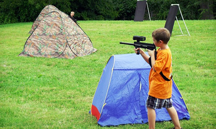Mobile Tactics Laser Tag - 1: Two-Hour Mobile Laser-Tag Party for Six with Equipment and Optional T-Shirts from Mobile Tactics Laser Tag (50% Off)