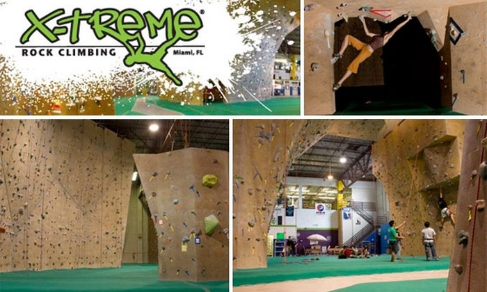 X-treme Rock Climbing - Country Walk: 51% Off Lesson, Gear, and Wall Time at X-treme Rock Climbing